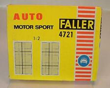 Slot Car Faller AMS Nr. 4721 Fahrbahnteile Kreuzung zweispurig/einspurig OVP#190