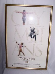 MARY LOU RETTON LOUGANIS USA AMERICA'S GREATEST OLYMPIANS OLYMPIC 1996 Poster