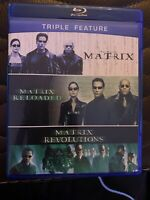 The Complete Matrix Trilogy (Blu-ray Disc, 2014, 3-Disc Set)