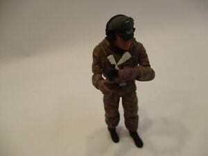 "21st Century 1:18 WWII German Combat 4"" Soldier W/Camouflage & Accessories RARE"