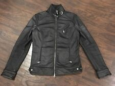 BELSTAFF Black Bourne Legacy Moto Racer Jacket US 34 IT 44  Small XS Men's