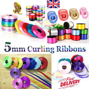 5mm Curling Ribbon 2+ Different Colour For Balloon/Craft/Gift Wrap/Art🎈🎀