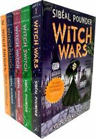 The Witch Wars Series 5 Books Young Adult Collection Paperback By Sibeal Pounder