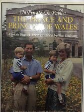 book hardback The Prince and Princess of Wales In The Private and Public
