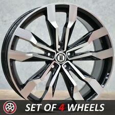 20 Inch VW Tiguan R-LINE Style Aftermarket Wheels Rims Black Machined