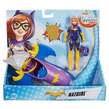 DC Super Hero Girls Batgirl Action Figure with Batjet.~ New ~