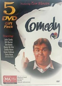 Comedy 5 DVD Gift Pack, Brand New Sealed Sent Tracked