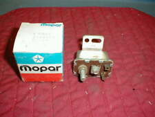 NOS MOPAR 1967-76 STARTER RELAY WITH AUTOMATIC TRANS LATE 1968 DATE CODE