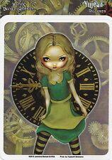 Clockwork Alice In Wonderland Fairy Sticker Car Decal Jasmine Becket-Griffith