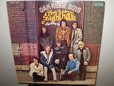 "THE OAK RIDGE BOYS.... ""THE LIGHTHOUSE"".....""AUTOGRAPHED"".......OOP GOSPEL ALBUM"