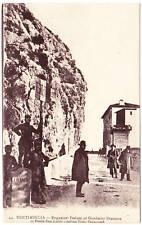 Cartolina Ventimiglia Ponte S. Luigi doganieri inizi '900 osteria