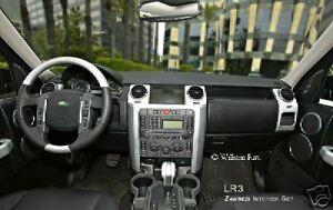Land Rover LR3 Zambezi Silver Interior Trim Kit + Wheel