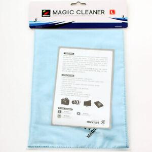 10 PCS ULTRA FINE MICROFIBER MAGIC CLOTH D-SLR PHOTO CAMERA LENS CLEANER (L)