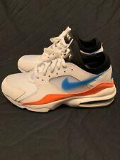 new product 22341 21d23 New ListingNike Air Max 93 White Blue Nebula Total Orange Men s Size 8  306551-104
