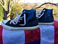 CONVERSE Hi Tops CHUCK TAYLOR Rare Lightening Bolt Sneakers Boys Girl Shoes Sz 3