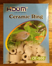1of unopened box and 1 of 3/4 box ceramic filtration rings.