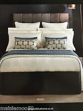 PEACOCK BLUE HOTEL COLLECTION BEXLEY KING SIZE DUVET COVER IVORY 300T/C RRP £140