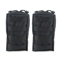 2PCS Tactical Utility Pouch Molle Pouch EDC Gadget Gear Bag Military Waist Pack