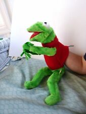VINTAGE ORIGINAL 1965 KERMIT PUPPET BY IDEAL TOY CORP