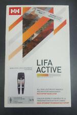Helly Hansen LIFA Active Multisport Baselayer Graphite/Blue urban Stripe Neu OVP