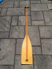 """Very Clean Sawyer 58"""" Wood and Fiberglass Canoe Paddle Boat Oar Made in USA"""