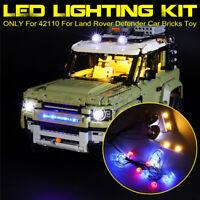 USB LED Light Lighting Kit For LEGO 42110 For Land Rover Defender Car Bricks  ↬