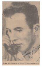 Pavel Popovich Signed Newspaper Portrait / Russian Cosmonaut / Autographed
