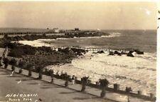 ANTIQUE PHOTO POSTCARD PIRIAPOLIS PUNTA FRIA URUGUAY 1939