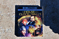 The House with a Clock in it's Walls 4K ULTRA HD + BLU-RAY W/SLIPCOVER LIKE NEW