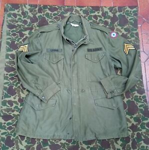 United States' Army Original field jacket m1951 M51 dated 1957