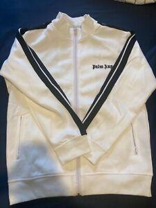 Palm Angels White Track Jacket Size M