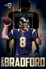 FOOTBALL POSTER Sam Bradford St. Louis Rams NFL 2014