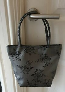 Molton Brown Grey & Black Hand Bag From 1990's