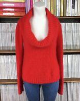 COMPTOIR DES COTONNIERS jumper sweater fluffy angora UK 10 12 US 6 8