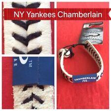 🏟New York Yankees Chamberlain Baseball White Bracelet by Gamewear🏟