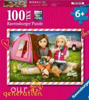 """NEW Ravensburger 100 Piece XXL Puzzle Our Generation """"Camping"""" Age 6+ Hot Puzzle"""