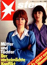 Magazin STERN Nr 33 v 1979, Konflikt Mütter + Töchter; Rocky Horror Picture Show