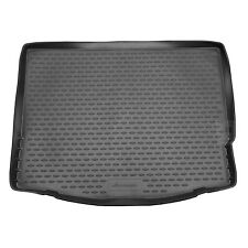 Ford Focus Mk.3 11-18 Rubber Boot Liner Tailored Fitted Black Floor Protector