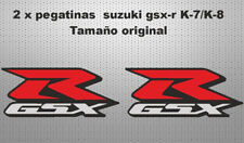 Pegatinas laterales suzuki gsxr k 7 k8 stickers decals calcas moto adhesivos
