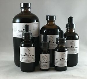 Dandelion Root Tincture, Extract, Cleanse/Detox, Multiple Sizes, Highest Quality