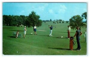 FRENCH LICK-SHERATON HOTEL, IN ~ Golfers COUNTRY CLUB COURSE c1960s  Postcard