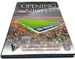 Opening Night Houston Texans National Football League Debut Hardcover Book ©2002