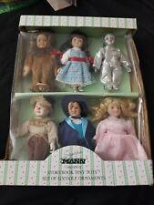 Six (6) Wizard of Oz Ornaments, Seymour Mann Storybook Tiny Tots.