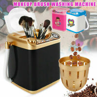 Mini Beauty Blender Washing Machine Wash & Dry Automatic Makeup Brush Clean Toy#