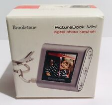 Brookstone Picture Book Mini Digital Photo Keychain with 1.4 inch LCD