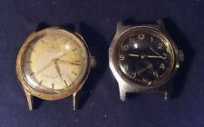 Two Vintage 1940's Men's Mido Multifort Swiss Super Automatic Watches Running