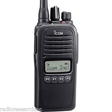Icom F2000S Limited Keypad LCD UHF 450-512 128 ch Radio Battery Antenna Charger