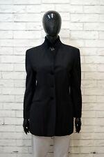 MOSCHINO Donna 42 Giacca Classica in Lana Blazer Ufficio Cappotto Jacket Women