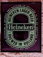 "COLLECTIBLE HEINEKEN BEER SIGN   MAN CAVE   BAR  8"" x 10"""