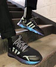 *NEW* Adidas Nite Jogger (Men's Size 9.5) Athletic Sneaker Shoe Black Iridescent